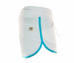 FABIANE naisten shortsi,väri: valkoinen