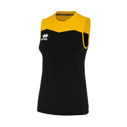 GLENDA  naisten pelipaita väri: musta/keltainen