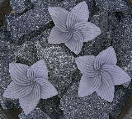 Kiuaskukka, lilja, siniharmaa (3kpl/pkt)