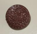 'Medaljonki' nappi, ruskea, 349