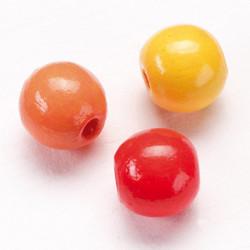 Puuhelmi sekoitus, puna-kelta, 110