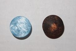 Nappi (turkoosi/ruskea), 0350