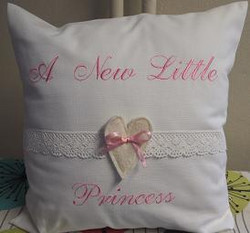 A New Little Princess-tyynynpäällinen