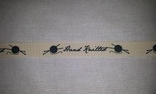 Hand knitted-nauha