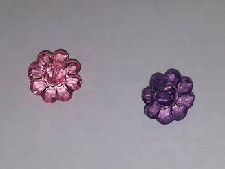 'kristalli' kukkanappi, 18720, 18721