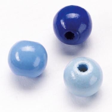 Puuhelmi sekoitus, sininen, 340