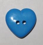 Sydännappi, sininen, 0360