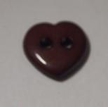 sydännappi, ruskea, 0359