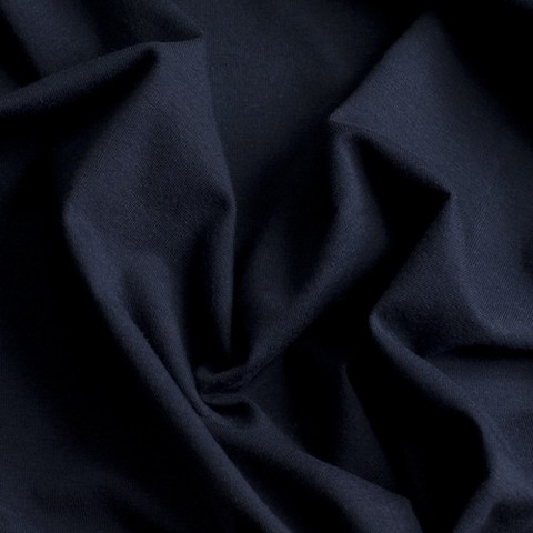Tummansininen trikoo
