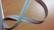 Metriketju, vaaleanharmaa 4mm