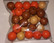 Puuhelmi sekoitus, oranssi-ruskea-beige, 550