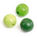 Puuhelmi sekoitus, vihreä, 420