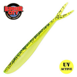 #145 Chartreuse Pepper Shad 5,75