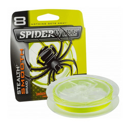 SpiderWire Stealth Smooth 8 Hi-Vis Yellow 150m