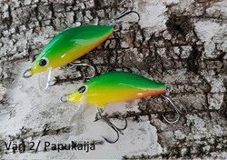 Heta Vaappu 55mm färg: 2, Papukaija