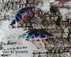 Heta Vaappu 55mm färg: 4, Violetti