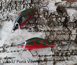Heta Vaappu 55mm färg: 5, Puna
