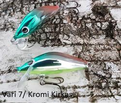 Heta Vaappu 55mm färg: 7, Kromi kirkas
