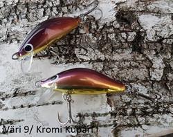 Heta Vaappu 55mm färg: 9, Kromi kupari