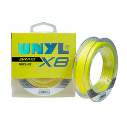 Unyl Braid X8 115m Yellow