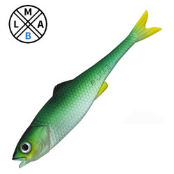 Green Shiner 7cm 4-pack