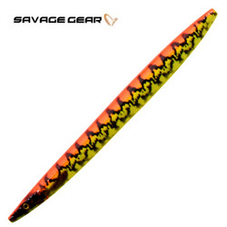 Yellow Red UV Pout 125mm 19g