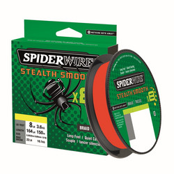 Spiderwire Stealth Smooth 8 Red 150m