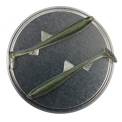Osmerus 68mm 5kpl väri: Smaragdi