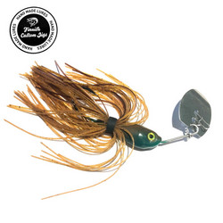 Fincustomjigs VIB Blade Mud