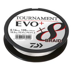 Daiwa Tournament 8 Braid EVO+ 135m White