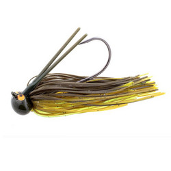 CrossEyeZ Football Jigs -Green Pumpkintreuse 14g #5/0 1kpl
