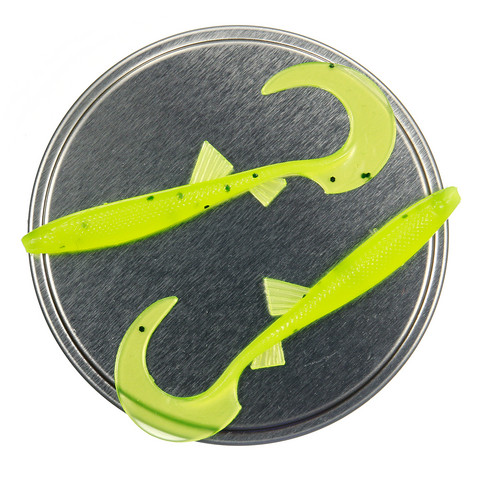 Twister 68mm 5kpl väri: Chartreuse UV