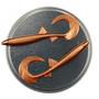 Twister 68mm 5kpl väri: Pronssi