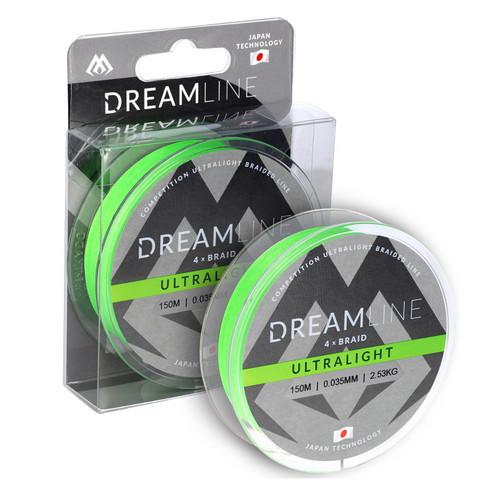 Mikado Dreamline Ultralight Fluo Green 150m