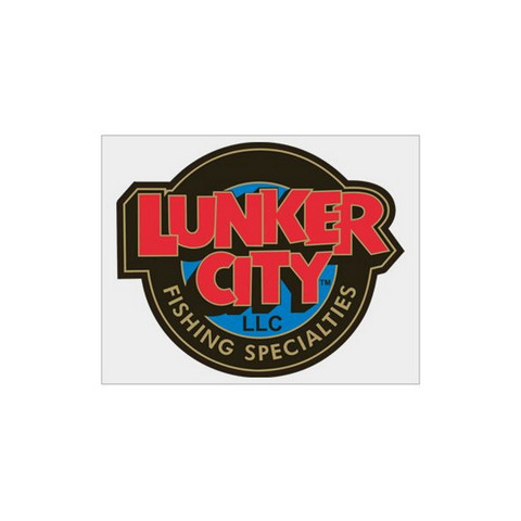Lunker City Sticker (85x70mm)
