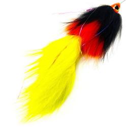 SpinTube Pike 45g nopeasti uppoava musta/oranssi/keltainen