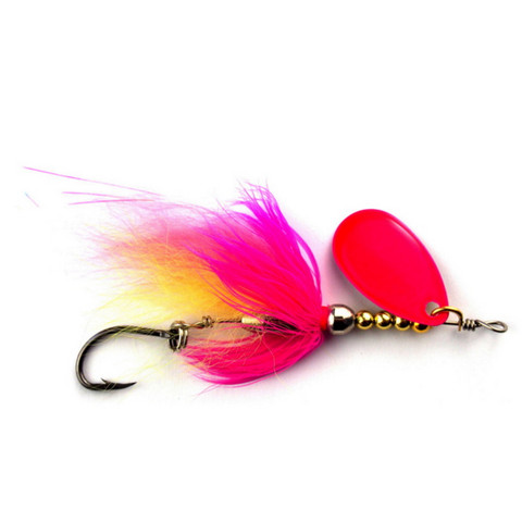 SpinTube Spinner 6 g kelt. pinkkiki