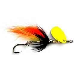 SpinTube Spinner 6g musta oranssi keltainen