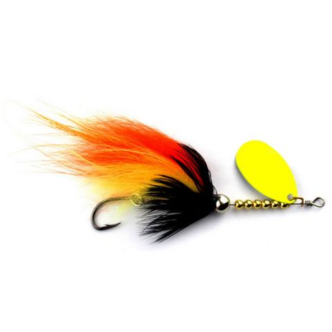 SpinTube Spinner 8 g oranssi kelt.ssi keltainen