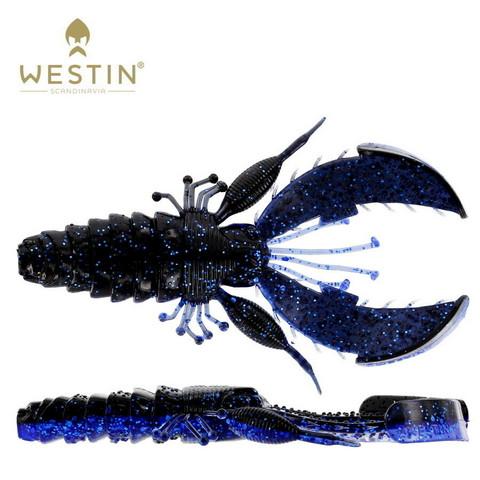 Black/Blue 6,5cm 6kpl