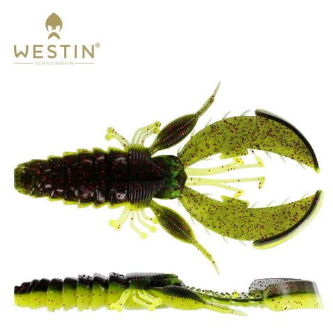 Black/Chartreuse 6,5cm 6kpl