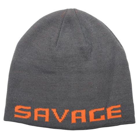 Savage Gear Logo Beanie Rock Grey/Orange