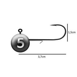 BKK Jighead Round Size #3/0 Bulk
