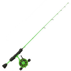 13 Fishing Black Betty Free Fall Ghost Ice Combo LH