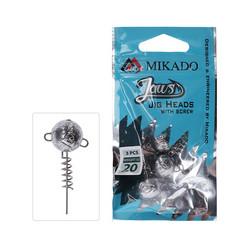 Mikado Jaws With Screw 3kpl