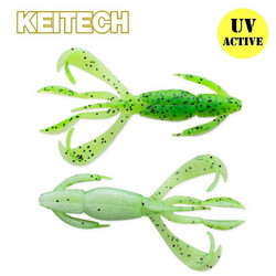 Chartreuse Pepper Shad 2,8